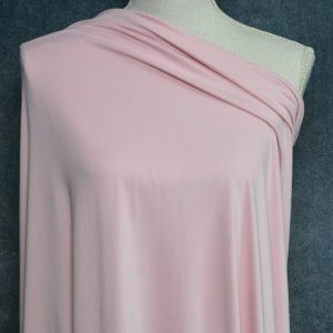 Double Brushed Poly Spandex, BALLERINA PINK - 1/2 meter