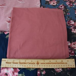 Double Brushed Poly Spandex, DARK MAUVE - 1/2 meter