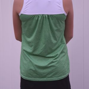 Lightweight Wicking 50+ UPF Active Wear Jersey, Heather Green - 1/2 meter