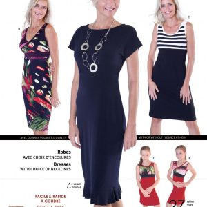Jalie Paper Pattern 3024, Knit Dresses