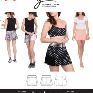 Jalie Paper Pattern 3670, Loulouxe Skort