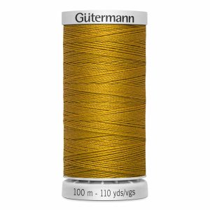 Gutermann Jean Thread, 412 Dark Gold - 100 m