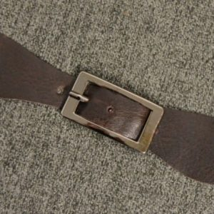 Buckle, BROWN