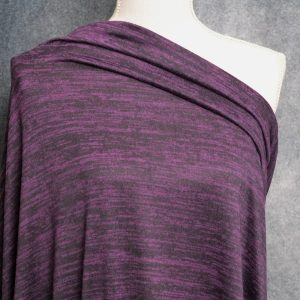Melange Sweater Knit, Plum Orchard - 1/2 meter