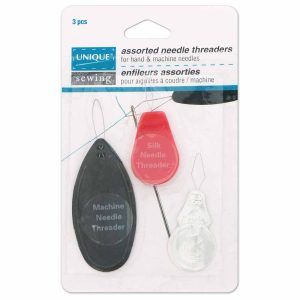 Sewing Needle Threaders, 3pc Pkg