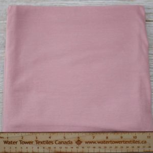 Organic Cotton Spandex, 155 gsm, Dusty Pink - 1/2 meter