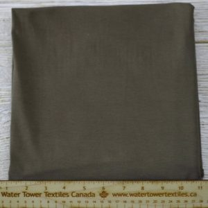 Organic Cotton Spandex, 155 gsm, Military - 1/2 meter