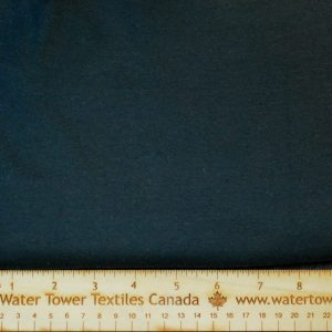 Organic Cotton Spandex, 300 gsm, Black - 1/2 meter