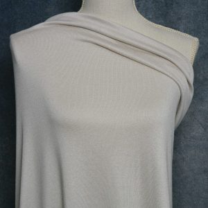 Rayon Cotton Modal Sweater Knit, Oat - 1/2 meter