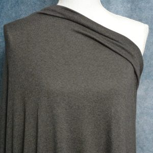Rayon Cotton Modal Sweater Knit, Dark Coffee- 1/2 meter