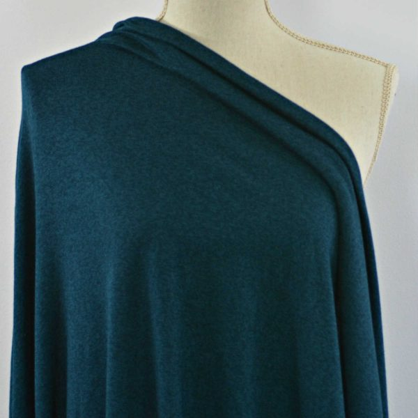 Rayon Cotton Modal Sweater Knit, Dragonfly - 1/2 meter