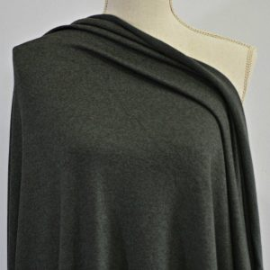 Rayon Cotton Modal Sweater Knit, Ivy - 1/2 meter