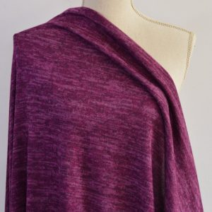 Melange Sweater Knit, Lupine Hollow - 1/2 meter