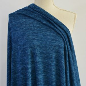 Melange Sweater Knit, Mountain Pool - 1/2 meter