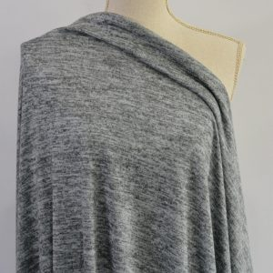 Melange Sweater Knit, Rain Cloud - 1/2 meter