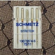 Schmetz Stretch Needles, size 75, 5 count
