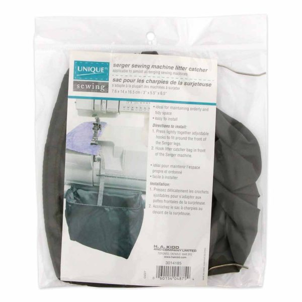Serger Sewing Machine Litter Catcher
