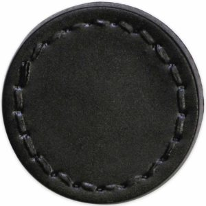 "Shank Button, 21 mm (0.82"") Black 108920T - 1 count pkg"