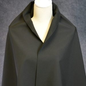 Soft Shell Fleece Back, Black - 1/2 meter