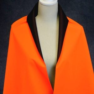 Soft Shell Mesh Back, Hi Vis Neon Orange - 1/2 meter