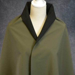 Soft Shell Fleece Back, Olive - 1/2 meter