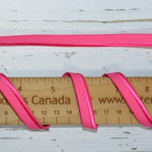 "Stretch Elastic Piping - 3/8"" Hot Pink - 1 meter"
