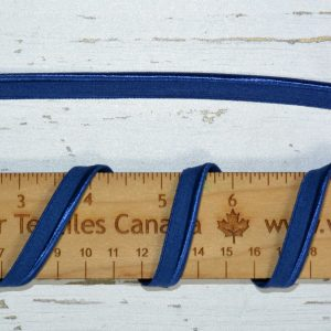 "Stretch Elastic Piping - 3/8"" Naval Blue - 1 meter"