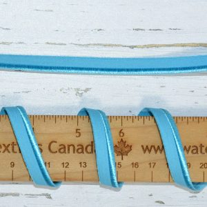 "Stretch Elastic Piping - 3/8"" Teal - 1 meter"