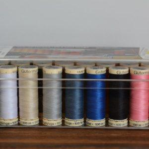 Gutermann Sew All 100m Thread, Multicolour - 26 Roll Box