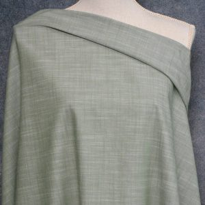 Woven Slub Cotton, Pinehurst Green - 1/2 meter