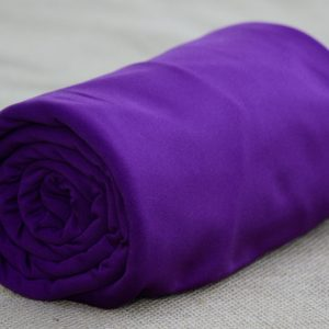 Fleece-Back Polyester Spandex, Purple - 1/2 meter