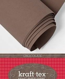 Kraft-Tex Kraft Paper Fabric, Chocolate - 1.37 meter roll