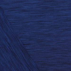 Fleece-Back Polyester Spandex, Heather Royal - 1/2 meter