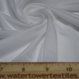 Swim Lining, Quick Dry Wicking, White - 1/2 meter