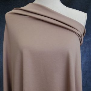 ponte fabric in taupe colour